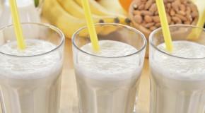 Smoothie boordevol met eiwitten